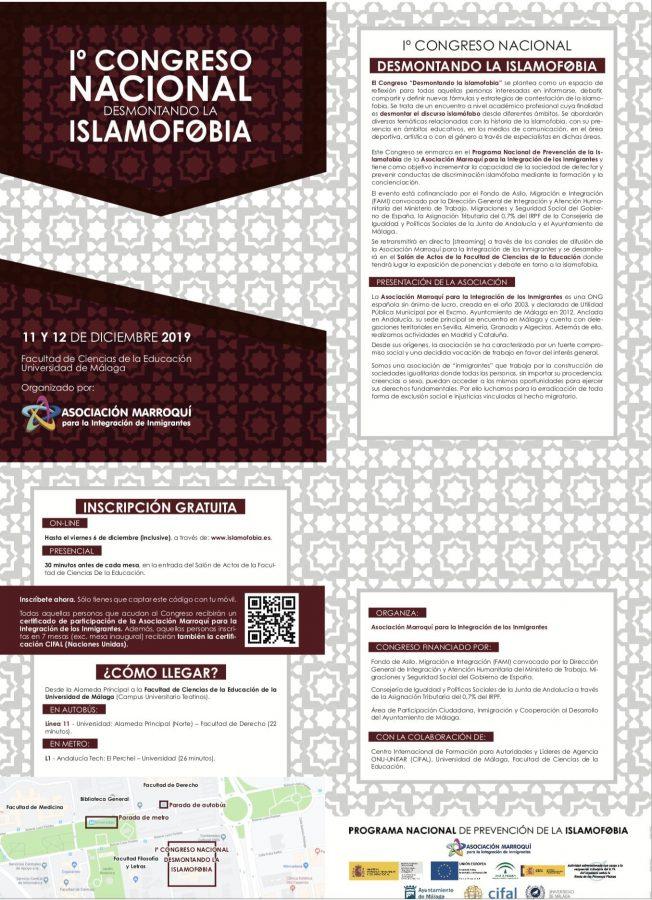 Primer Congreso Nacional desmontando la islamogobia