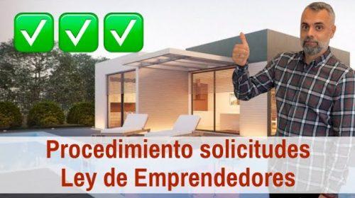 Presentación de solicitudes- Autorización de Residencia de Ley de Emprendedores