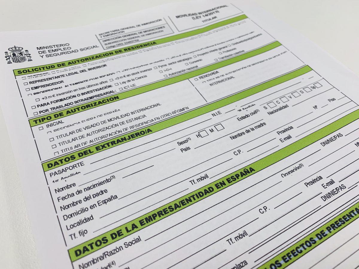 solicitud autorizaciones ley de emprendedores