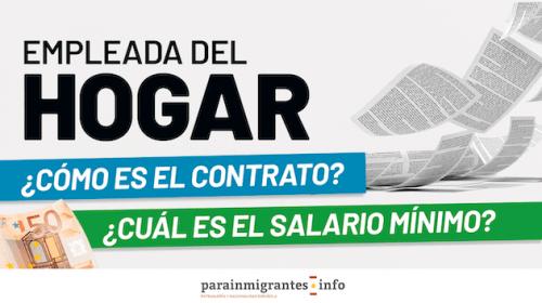 Empleada de Hogar ¿Cómo es el Contrato?¿Cuál es mi Salario?