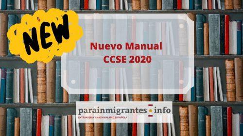 Nuevo Manual Examen CCSE 2020