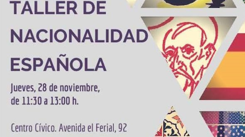 Taller de Nacionalidad Española en el Centro Cívico Benavente- Zamora