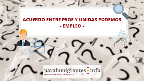 ANALISIS ACUERDO PSOE Y PODEMOS