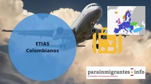 Etias para Colombianos