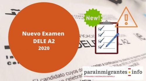 Nuevo Examen DELE en 2020