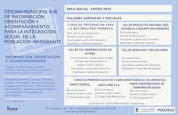 integración social de la población inmigrante