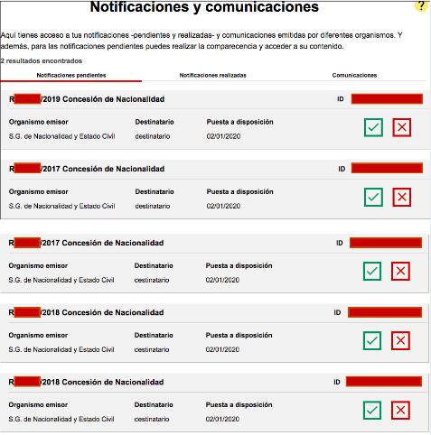 Resoluciones de Concesión de Nacionalidad Española 2 enero 2020