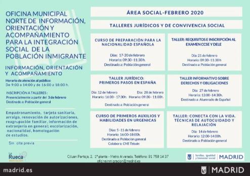 programa para la integración población inmigrante