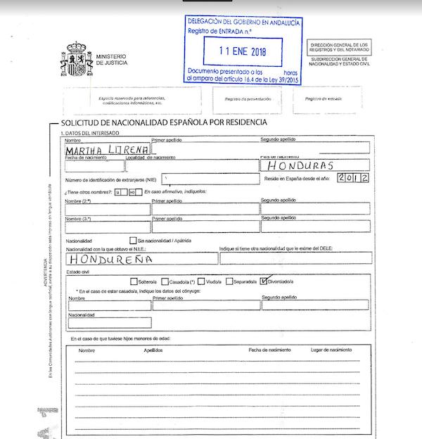 nacionalidad por registro público
