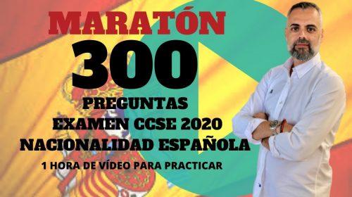 300 Preguntas Examen Nacionalidad Española 2020 – CCSE