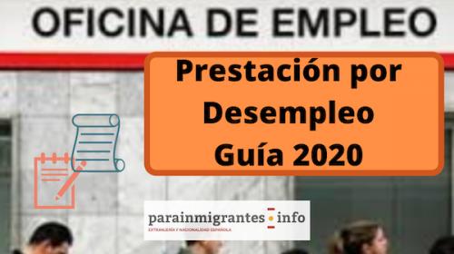 Prestación por Desempleo Guía 2020
