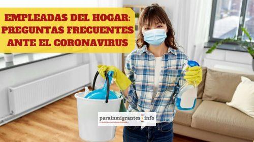 Empleadas del Hogar: Preguntas Frecuentes ante el Coronavirus