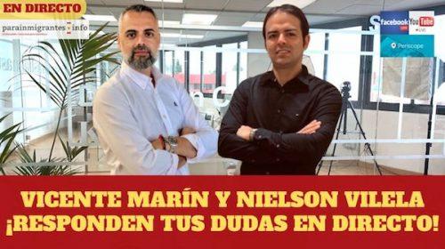 Nacionalidad española y Extranjería: Consultas en Directo 27 marzo 2020