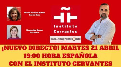 Exámenes de Nacionalidad: ¡Nuevo directo con el Instituto Cervantes!