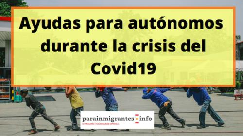 Ayudas para autónomos durante el Covid19