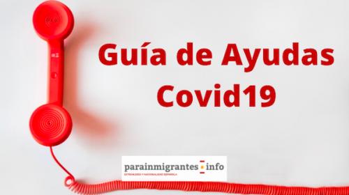 Guía de ayudas durante el Covid19