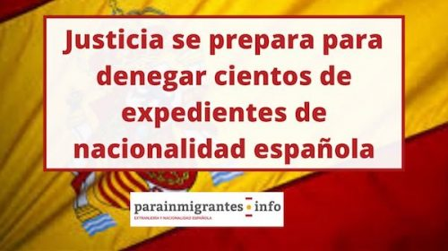 denegación de nacionalidad española