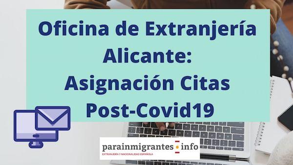 oficina de extranjería Alicante