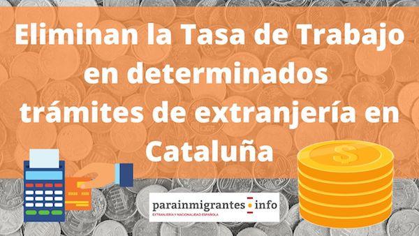 tasa de trabajo en cataluña