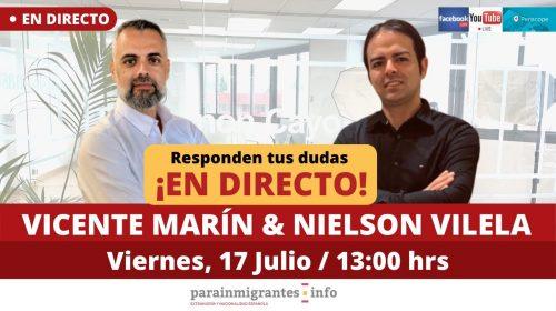 Extranjería y Nacionalidad Española: Consultas en Directo 17 de julio de 2020