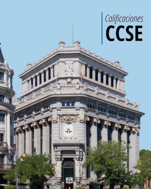 Calificaciones CCSE