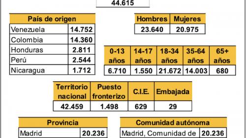 Datos sobre Protección Internacional- Junio 2020