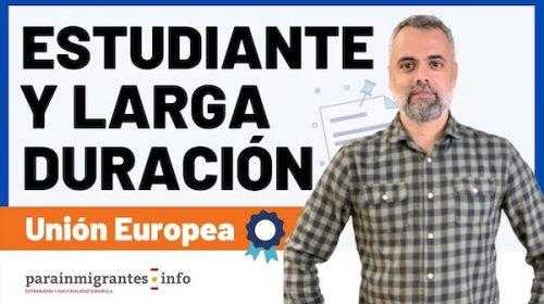 Estudiante y Larga Duración UE