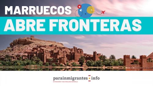 Marruecos abre sus fronteras