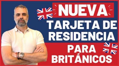 nueva tarjeta para británicos