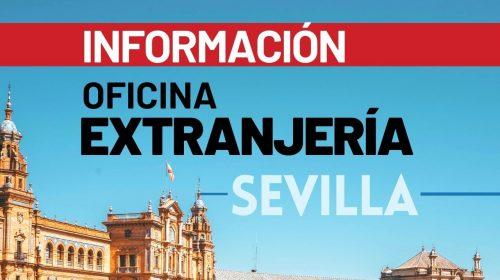 Información Oficina de Extranjería de Sevilla