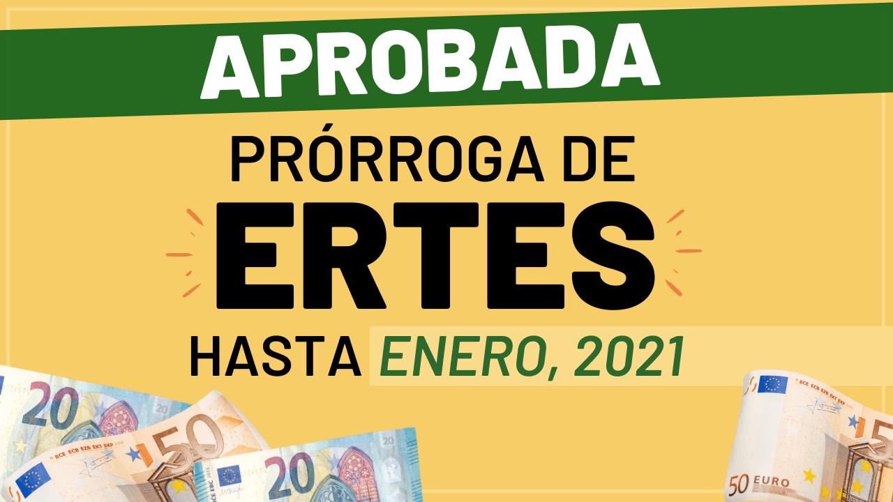 Aprobada la prórroga de los ERTE hasta enero de 2021 noticia