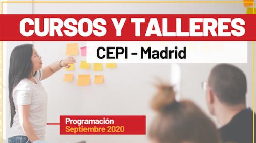 Cursos y Talleres CEPI- Madrid- Programación Septiembre 2020