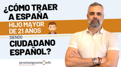 Residencia para Hijos de Españoles Mayores de 21 años-Opciones