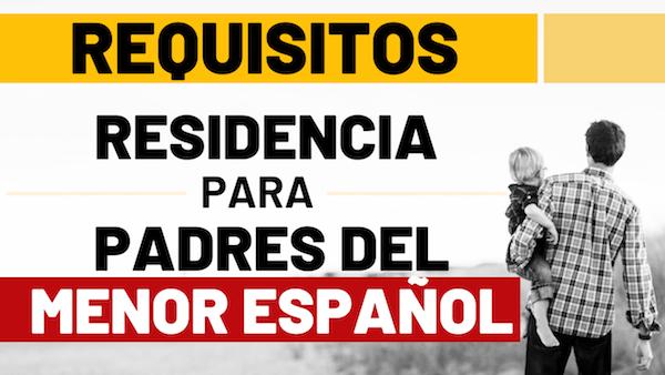 residencia para padres de menor español