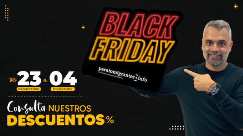 Black Friday en Parainmigrantes.info