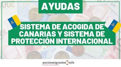 Ayudas para el Sistema de Acogida de Canarias y el Sistema de Protección Internacional