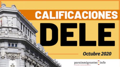 Calificaciones del Examen DELE A2 Octubre 2020 ya disponibles ¡Consúltalas!