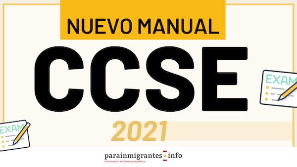 nuevo manual ccse 2021