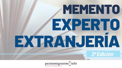 Memento Experto en Extranjería 2ª Edición: respuestas al régimen jurídico de extranjería