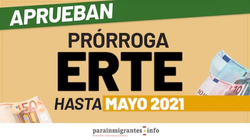 Se aprueba la prórroga de los ERTE hasta mayo de 2021
