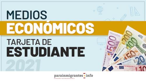 Medios Económicos para la Tarjeta de Estudiante en 2021