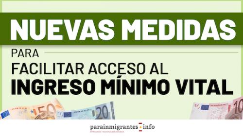 Nuevas medidas para facilitar el acceso al Ingreso Mínimo Vital