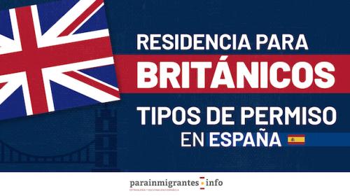 Residencia para Británicos: Tipos de Permisos en España