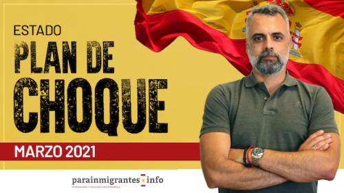 Estado Plan de Choque de Nacionalidad: Marzo 2021