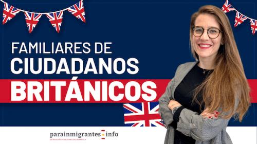 Residencia en España para Familiares de Ciudadanos Británicos