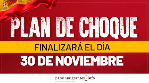 El Plan de Choque de Nacionalidad finalizará el 30 de noviembre.