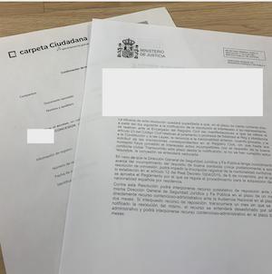 plan de choque y juras de nacionalidad española