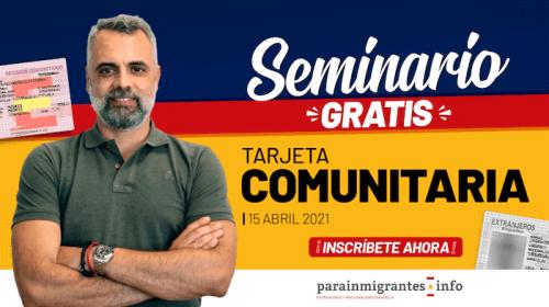 Seminario sobre la Tarjeta Comunitaria: Abril 2021