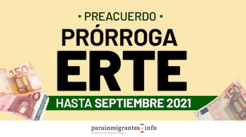 Ya hay un preacuerdo para prorrogar de los ERTE hasta Septiembre de 2021