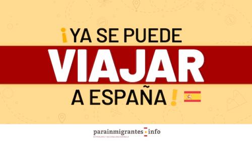 España ya permite la entrada de turistas vacunados